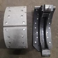 Колодка тормозная задняя 180mm (до 2010г.) FAW-3252, FAW-3312 3501060C/3502040C