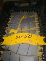 Колодка тормозная XCMG, SDLG 72006560B/75700434/9F850-27A020000A0/75700435/860115230