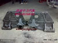 Кронштейн передней рессоры задний левый SHAANXI F3000 6х4 DZ9114526271