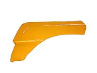 Крыло переднее левое (верх) SHAANXI F2000 81.61210.5364 (81.61210.5363)желт,черн