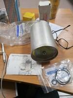 Фильтр осушителя пневмосистемы автокрана Liebherr LT 1080, арт. 5029993 (4324062222) в сборе WABCO