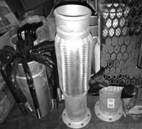 Гофра глушителя на подогрев кузова CAMC 12AH21DZ-09053