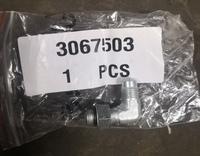 Адаптер-штуцер уголок для ДВС CUMMINS 3067503