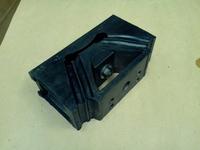 Подушка двигателя задняя WD615, WP10, WP12 (208х119х70)  AZ9725590031 99100590031 ЧЕРНАЯ