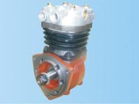 Компрессор воздушный 1-цилиндровый (конус 25-30mm) WP10/WD618 SHAANXI 61800130043 (612600130386)