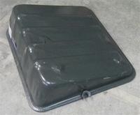 Крышка АКБ (крышка аккумуляторного ящика) HOWO WG9100760002, 199100760008 (метал.)