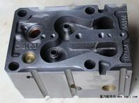 Головка блока цилиндров (ГБЦ) в сборе (под 6 шпилек) с масл.каналом WP10 Евро 2 SHAANXI 612600040282