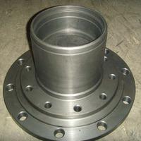 Ступица передняя 10 отверстий, наружн. подш. d=120mm HOWO А7 (AZ9100412211, WG9112410009)