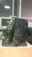 Кронштейн передней рессоры задний правый SHAANXI DZ9114520158 (AZ9232520011)