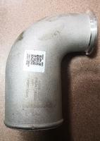 Патрубок турбокомпрессора Г-образный d1=62mm, d2=82mm CAMC Valin Hanma 618DA1118003A