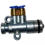Клапан сцепления пневматический 81.52170.6156  WP10, WP12, WD615