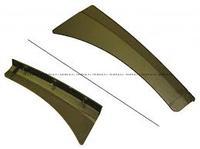 Крыло подножки правое переднее L=585mm SHAANXI F2000 81.61510.5162